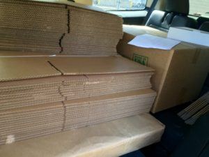 Took a trip to LA Carton to buy a carload of shipping supplies